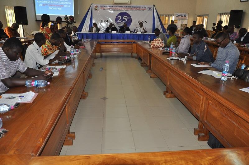 1 Togo la COOPEC-AD célèbre ses 25 ans et annonce de grands projets