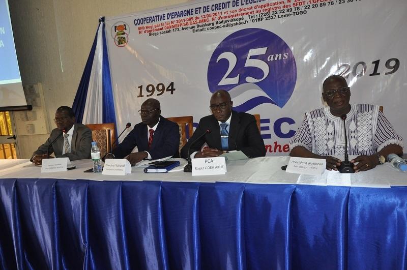4 Togo la COOPEC-AD célèbre ses 25 ans et annonce de grands projets