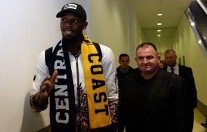 Usain Bolt en essai en Australie pour devenir footballeur professionnel