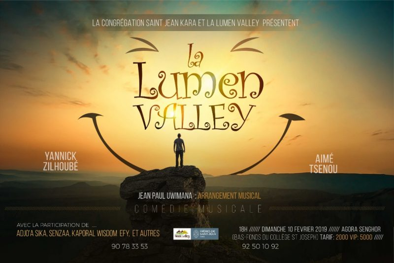 Comédie musicale Lumen Valley de la lumière pour les jeunes du Togo