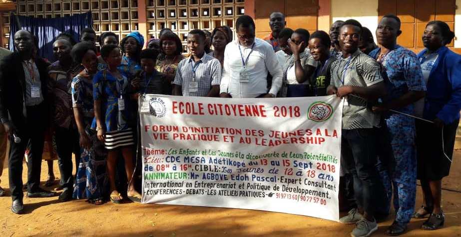 ONG-IJD, Adetikopé, Initiatives des Jeunes pour le Développement, Adetikopé, École citoyenne, Pascal Edoh AGBOVE, Directeur Exécutif,
