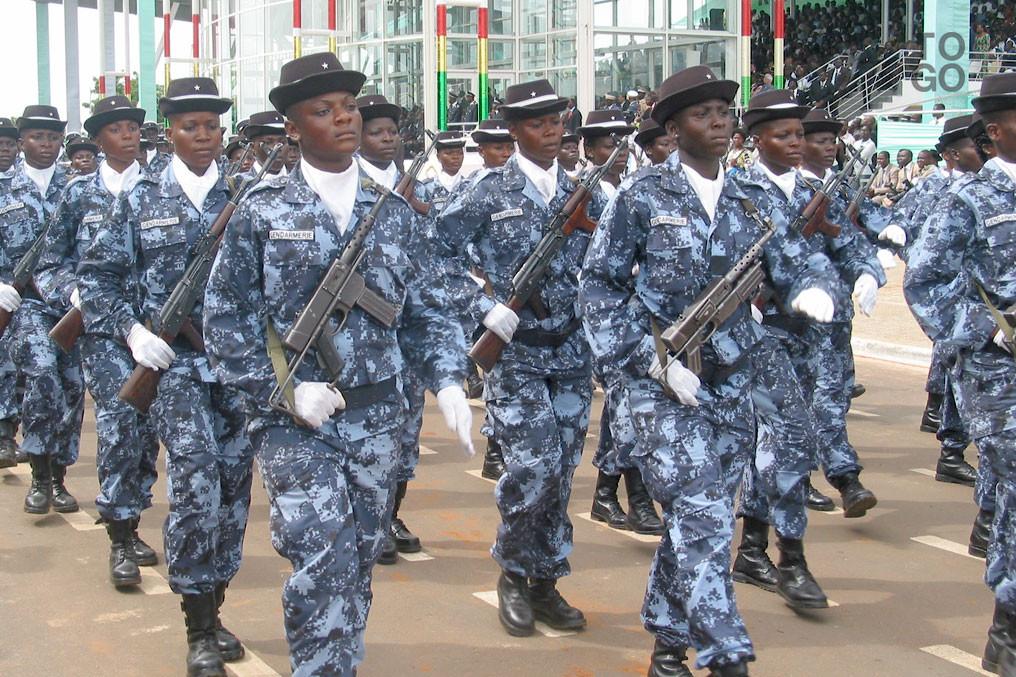 Gendarmerie, togolaise, serment, Kara, Kpéwa