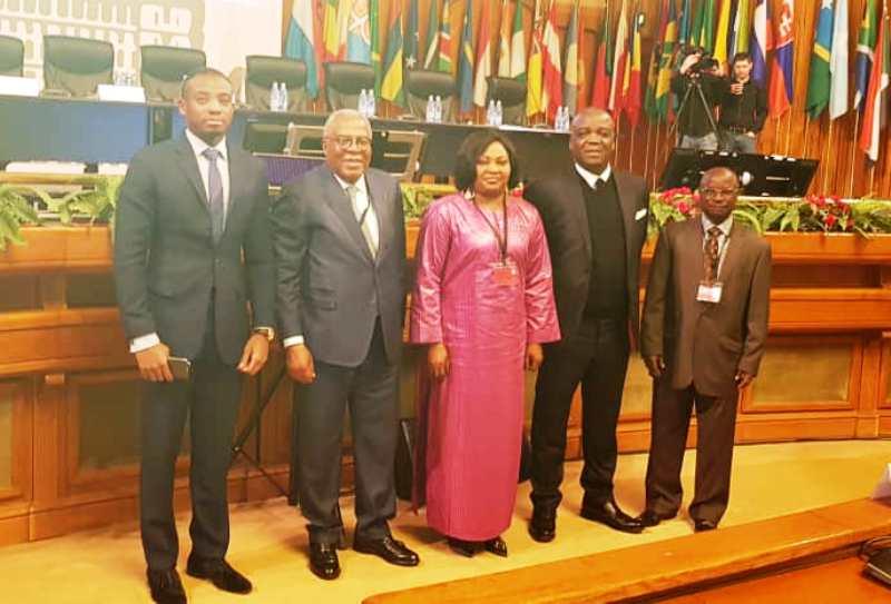 Togo, 37e session, Assemblée parlementaire paritaire, ACP-UE, Mey Gnassingbé, Nonon Kpamnona Dierabariga, André Johnson, Pacôme Adjourouvi et Ibrahima Memounatou, député,