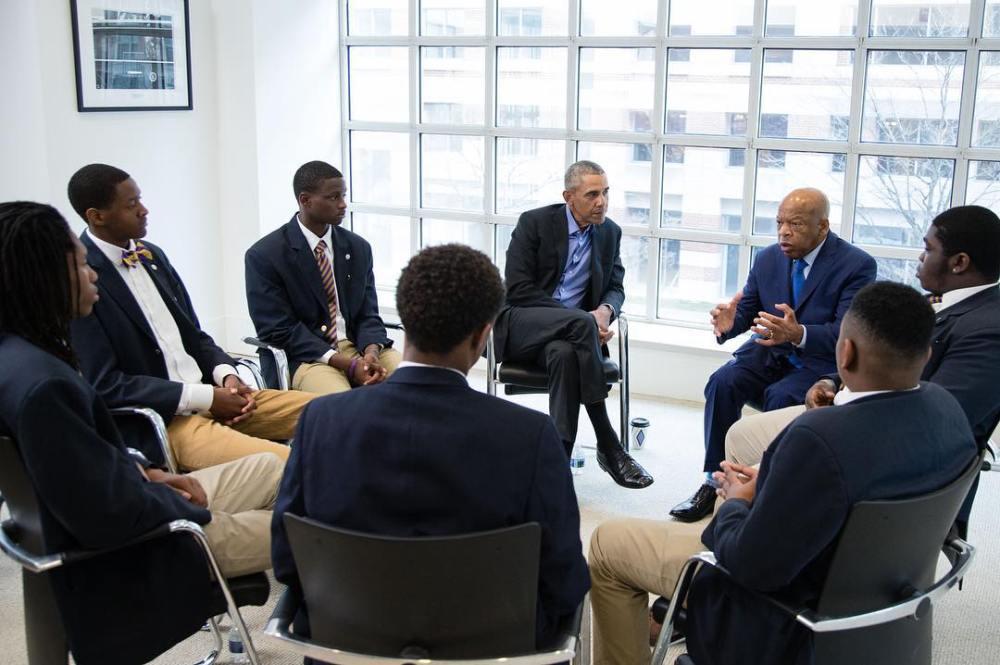 Togolais, Jean-Luc Agboyibo, leaders, 2018, Fondation Obama, Jean-Luc Kossigan Agboyibo, Ellis Park Arena, Johannesburg, Afrique du Sud, 17 juillet 2018, Fondation Nelson Mandela