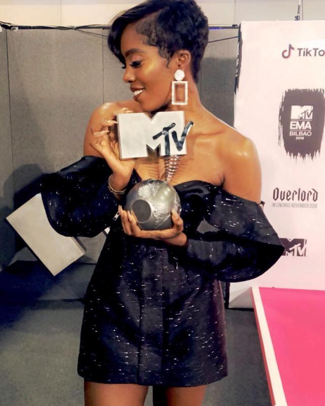 MTV, Europe Music, Awards 2018, Tiwa Savage