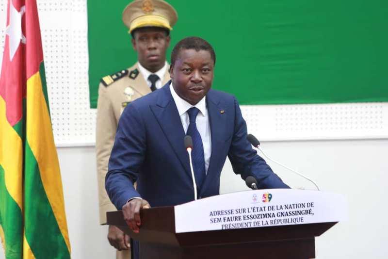 [Photo] Togo-les temps forts de l'adresse du Président Faure Gnassingbé ce 26 avril