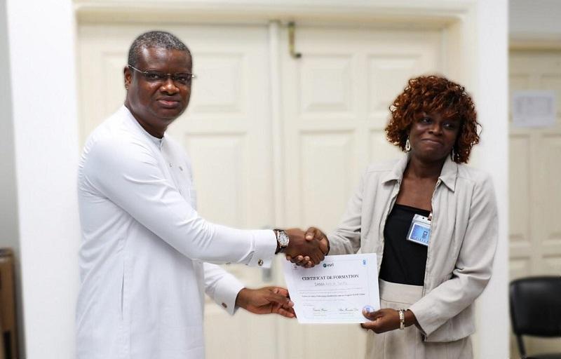 Togo 24 experts de la plateforme SIG PUDC certifiés ce vendredi 20 septembre