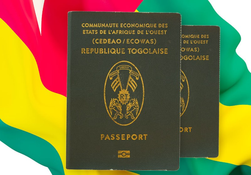 passeport, togolais, visa,