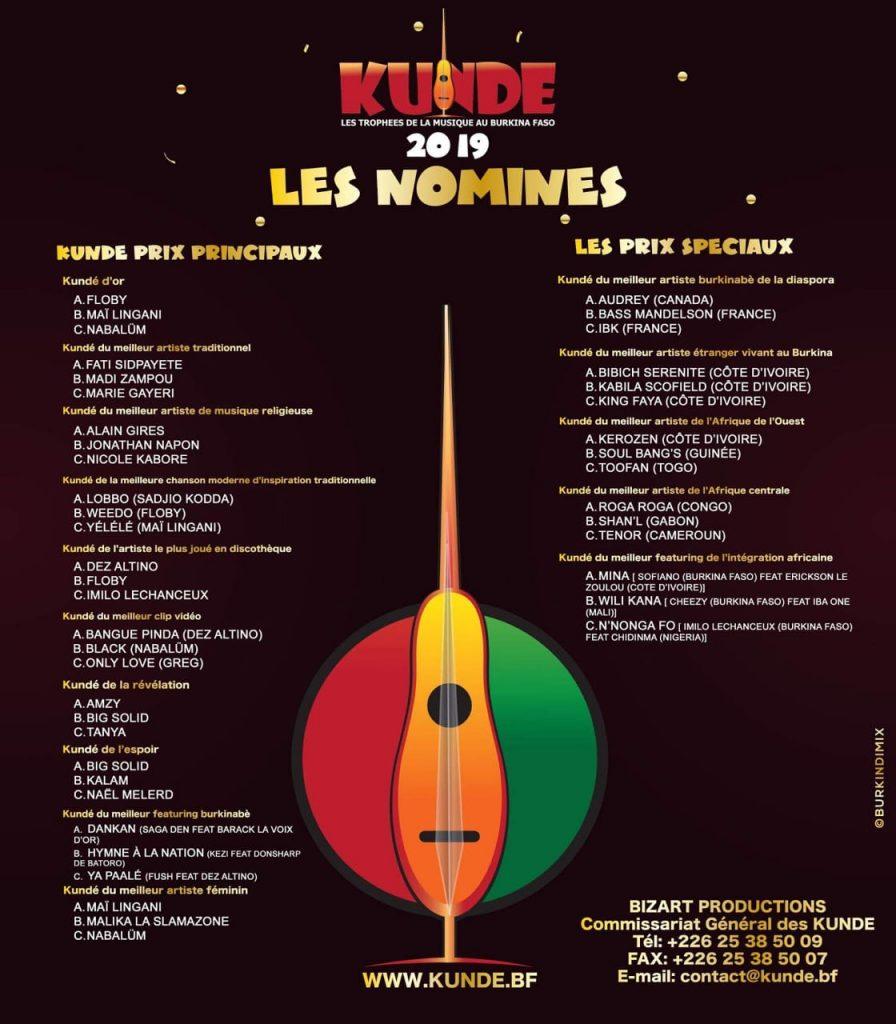 Kundé 2019, Toofan, nominé, Kundé du meilleur artiste de l'Afrique de l'Ouest