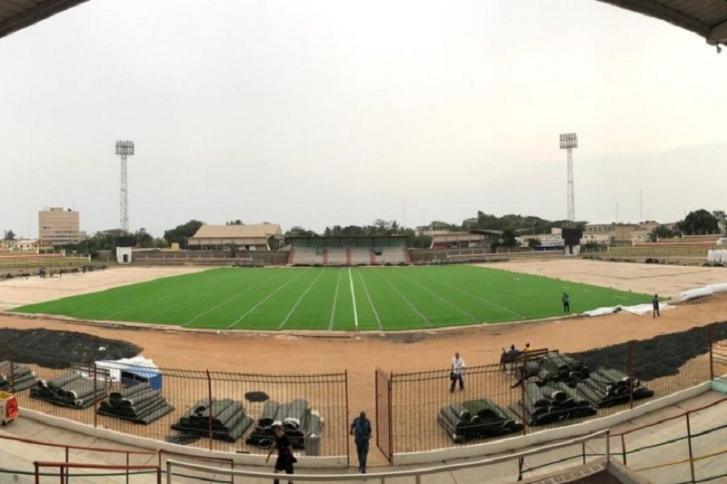 Stade municipal de Lomé, Football, Togo