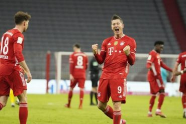 Bundesliga le Bayern Munich survole le Klassiker avec un triplé de Lewandowski