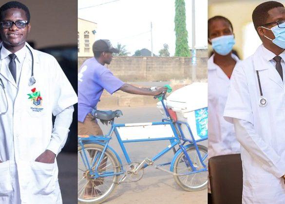 Grâce à son job de vendeur de Yaourt, il a pu réaliser son ambition de devenir soignant
